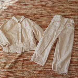 Other - Gorls 24 mth 2t jacket pants bundle outfit